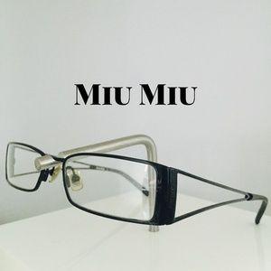 63b94cf17798 Authentic Miu Miu Eyeglasses Frames